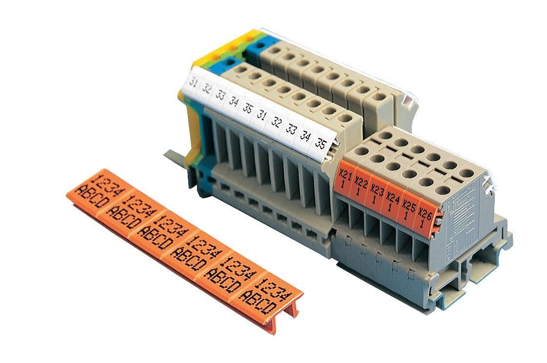 Wiring Terminal Strip Marking Wire Center 6inrfelectricalwiringcoaxialcableconnectormmcxmalerightangle Block Label Tx Series Partex Systems Rh Directindustry Com Strips Electrical Magnum