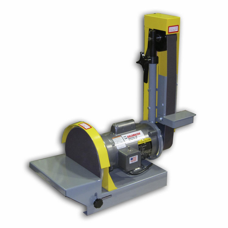 kalamazoo belt sander. belt sander / disc for wood vertical ds10-2m kalamazoo industries inc l