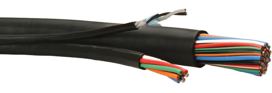 Optical data cable / insulated / multi-conductor / flexible ...