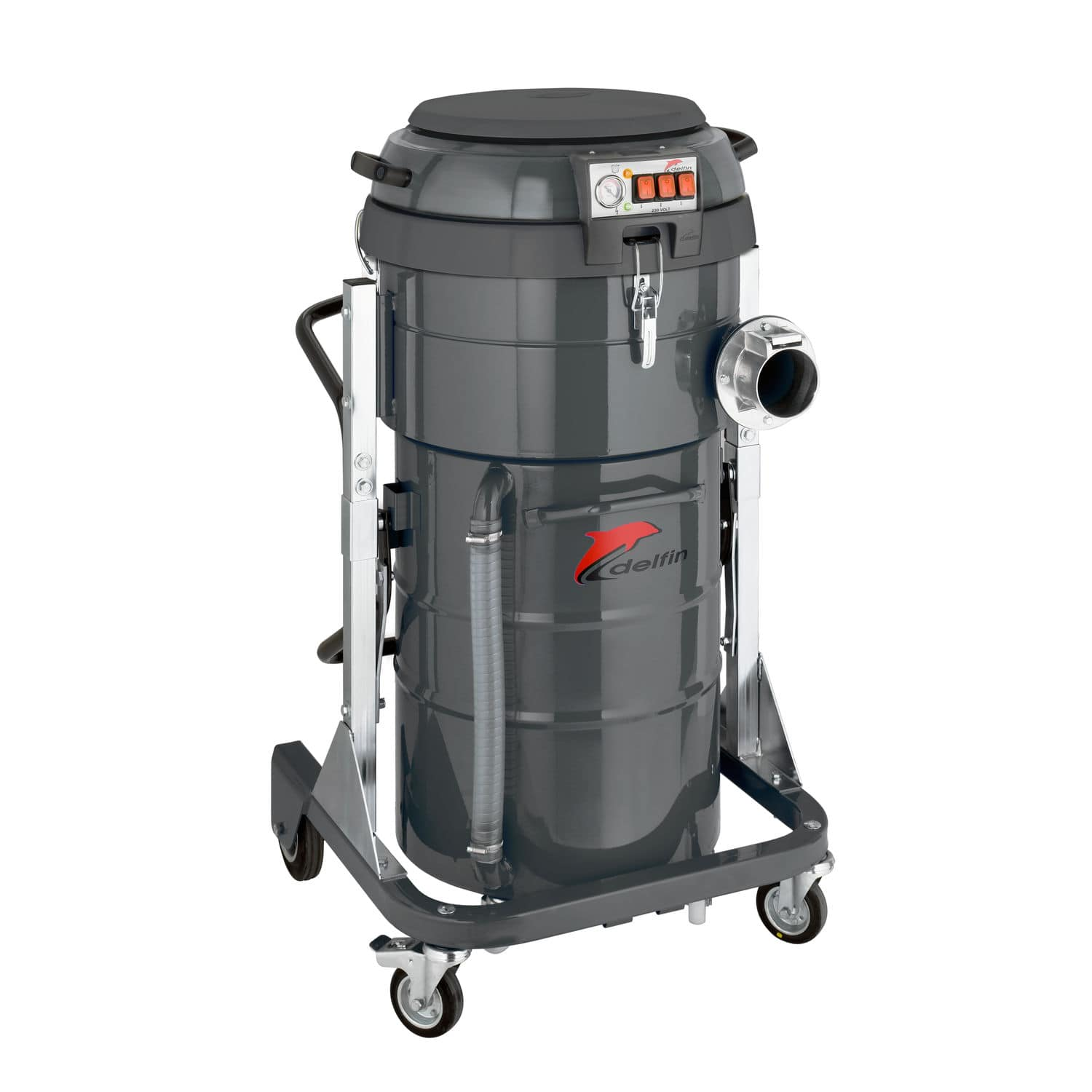 Oil And Chip Vacuum Cleaner Single Phase Industrial Mobile