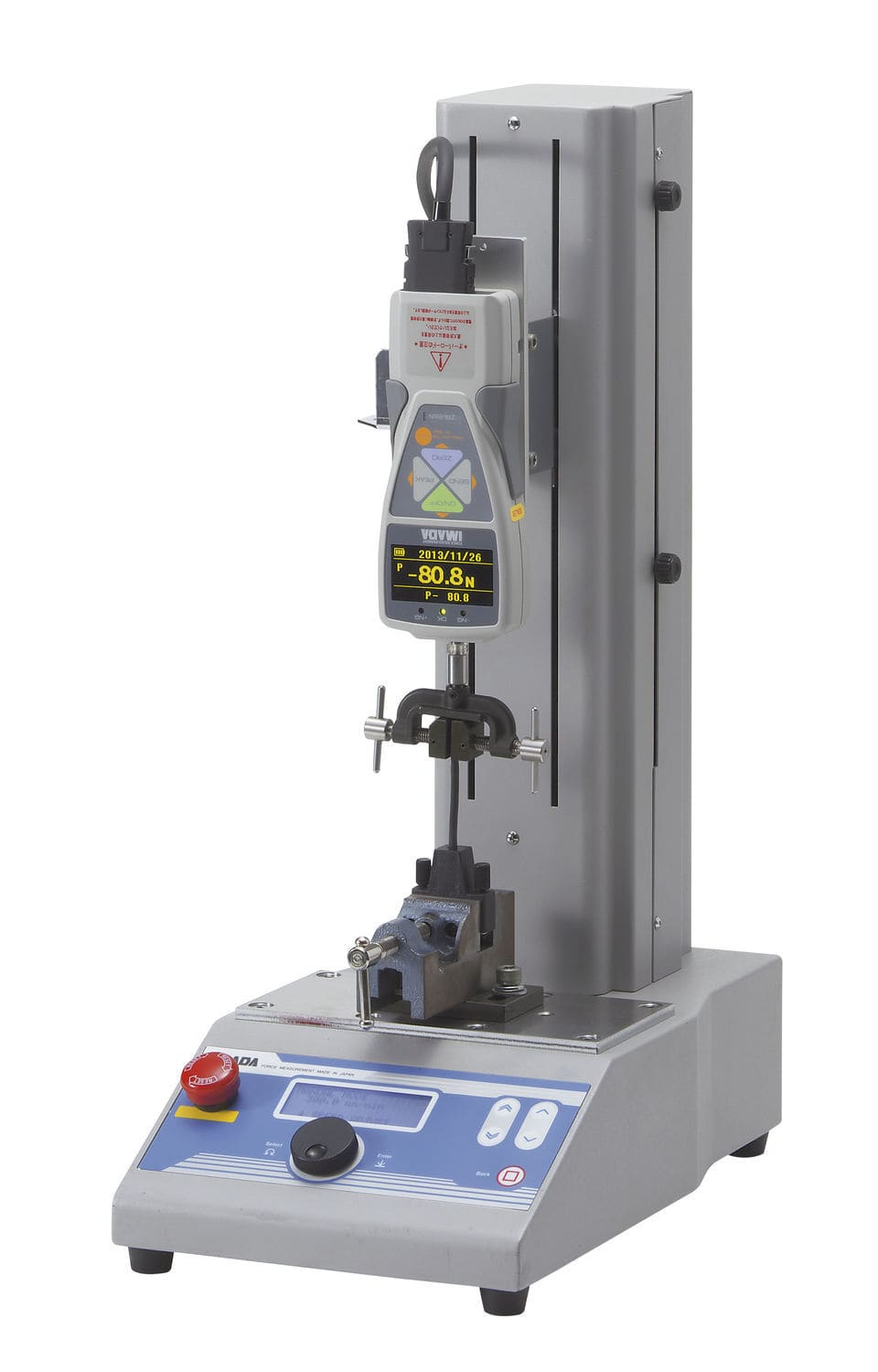 force test stand compression tension compression fatigue mx2 series imada