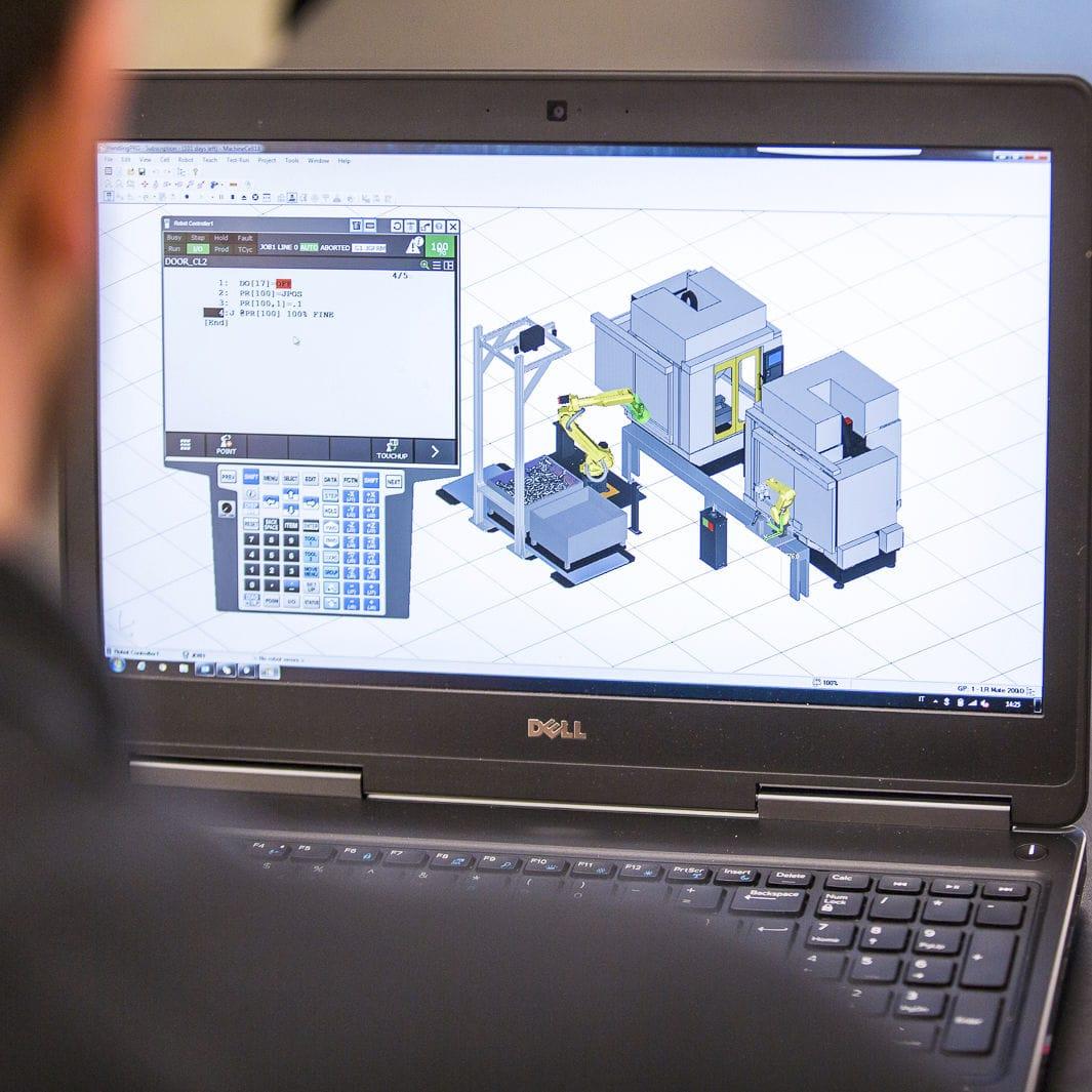 Simulation software / for robots - ROBOGUIDE - FANUC Europe Corporation