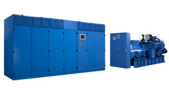 Parallel UPS / industrial / with power factor correction (PFC ...