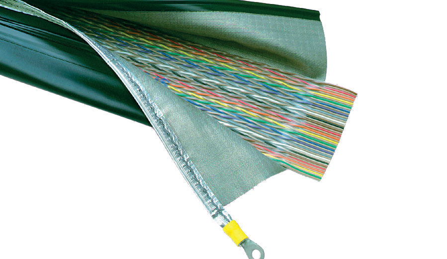 protection sleeve / zip-closing / for ribbon cables / wire harness - shcc