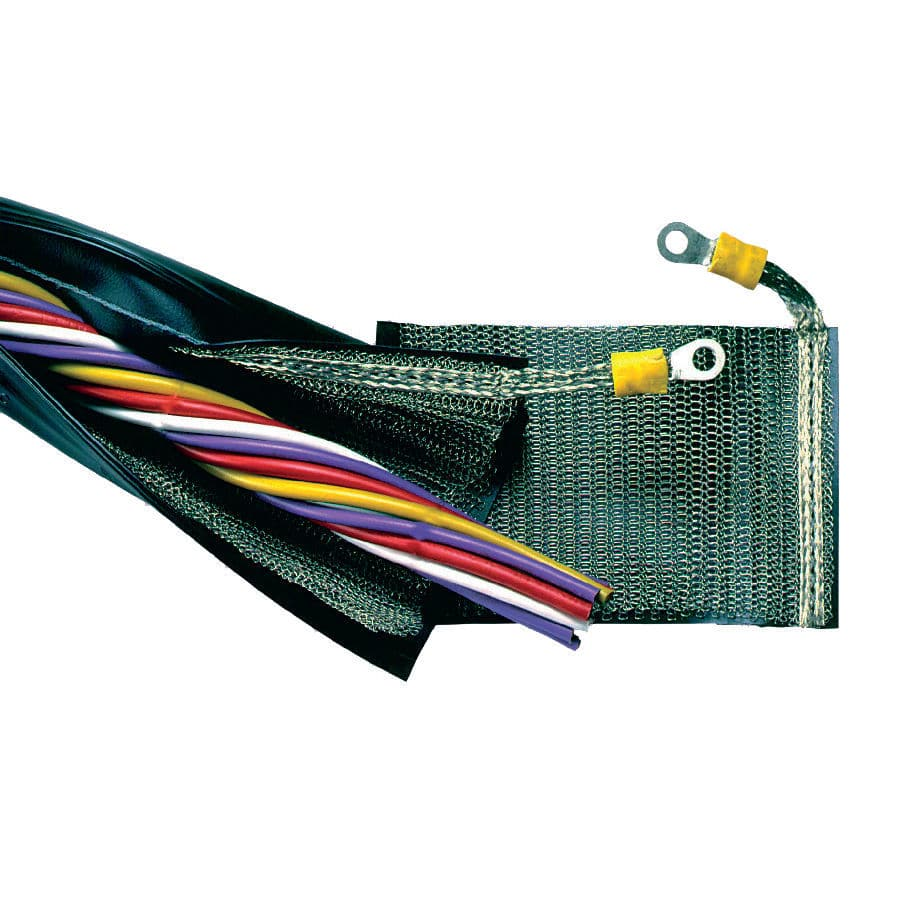 zip-closing sleeve / wire harness / for cables / protection - TREVIRA-SHX2