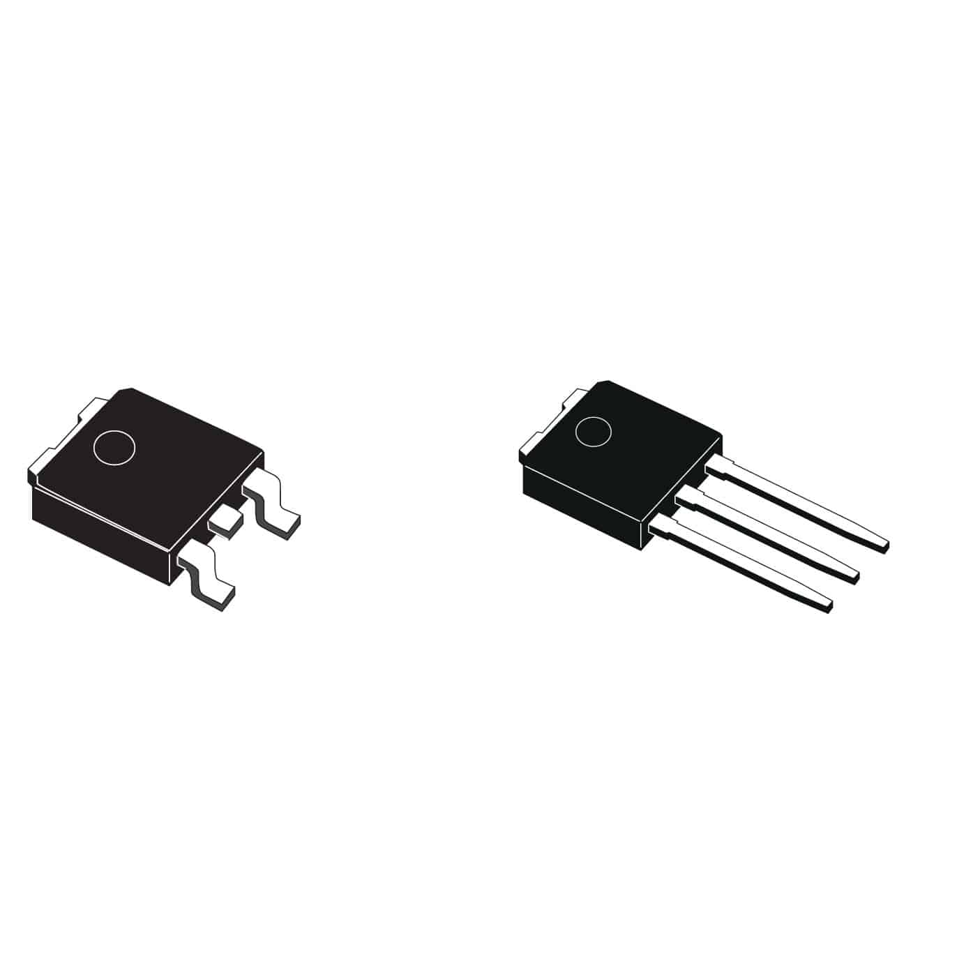 MOSFET transistor / power / for automotive applications - VND series