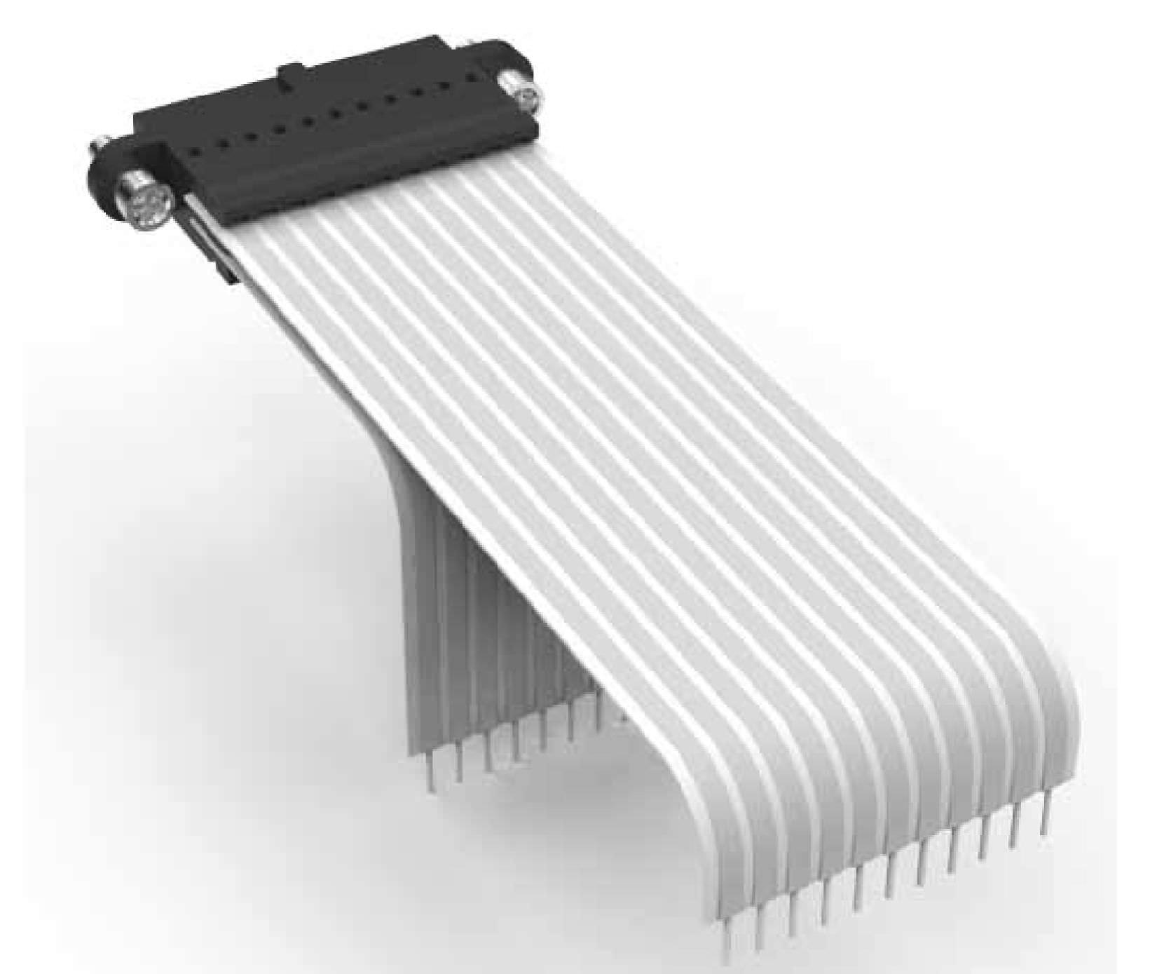 PCB connector / board-to-wire / flat / crimp - Micro-Flex - Nicomatic