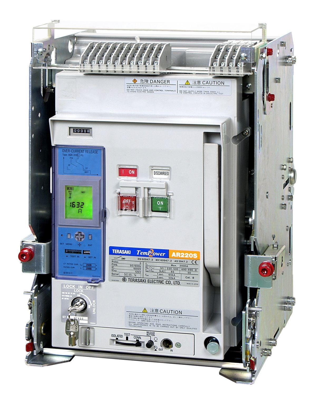 Air-operated circuit breaker / short-circuit / modular - Terasaki ...
