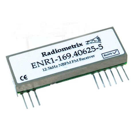 Wireless receiver module / HF / VLF / radio telemetry - ENR1