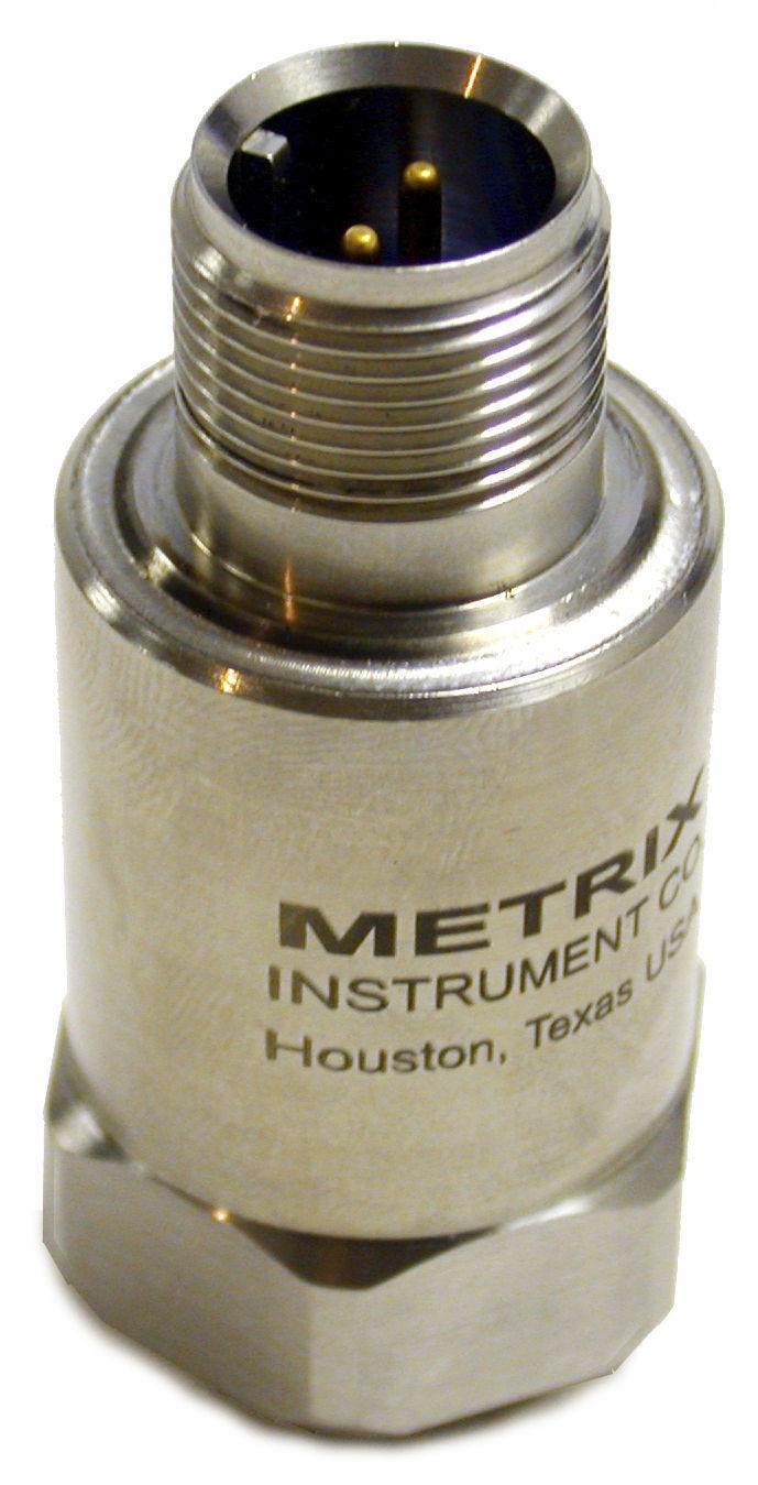 Compact Vibration Sensor St6900 Series Metrix Instrument Co Seismic