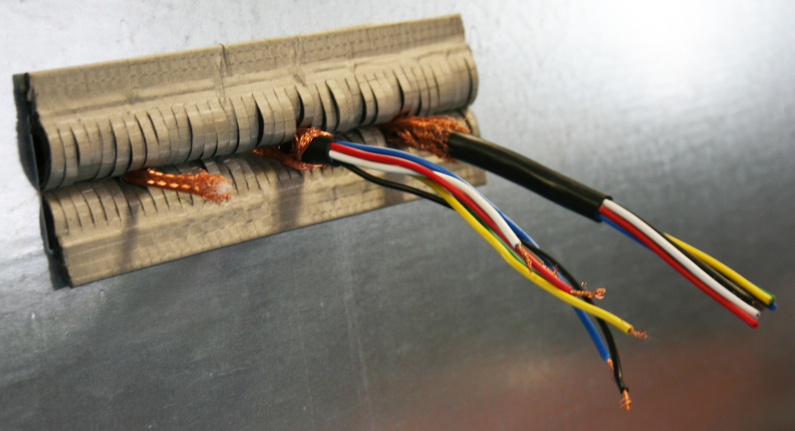 EMI Shielded Cable Entry System