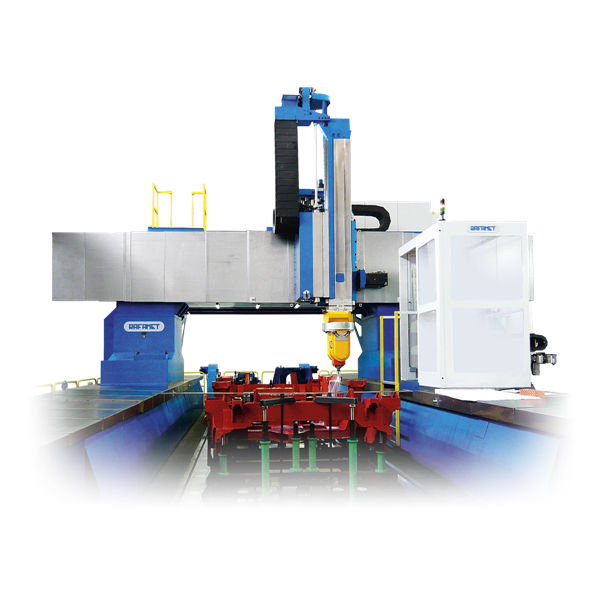 cnc boring mill / horizontal / 4-axis / floor - gmc series