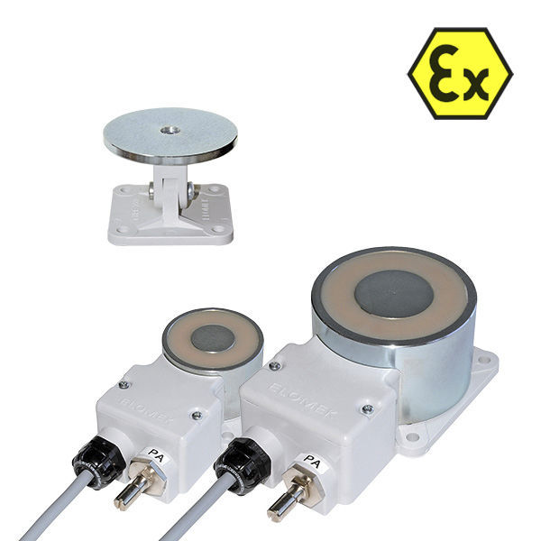 Holding solenoid / for doors / explosion-proof / 24-volt - ExMag  sc 1 st  DirectIndustry & Holding solenoid / for doors / explosion-proof / 24-volt - ExMag ...