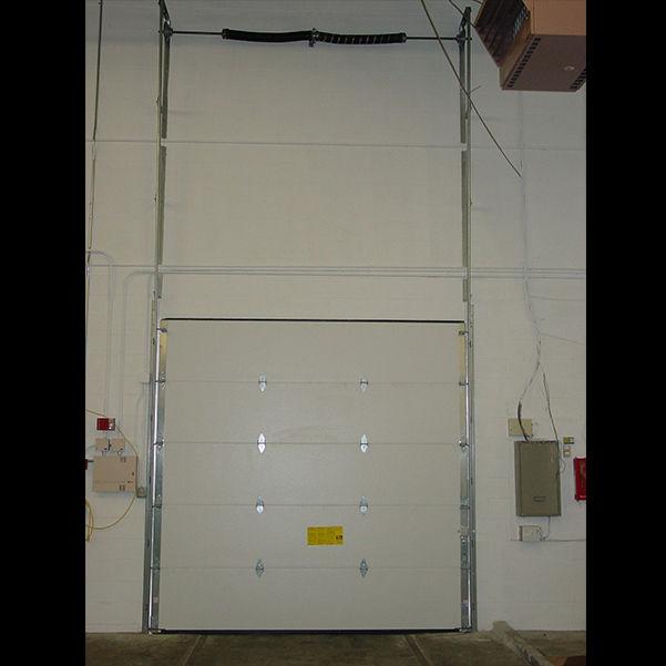 Sectional doors / galvanized steel / industrial / exterior Insul-Rite\u0026trade; 5255 / 5155 ... & Sectional doors / galvanized steel / industrial / exterior - Insul ...