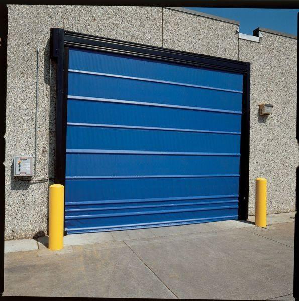 folding door / steel / PVC / polyethylene ... & Folding door / steel / PVC / polyethylene - TrakLine™ Series Roll ...
