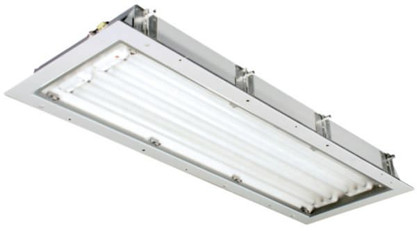Ceiling mounted lighting led fluorescent office