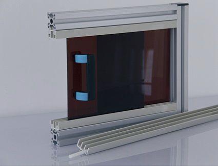 Pvc Profile For Sliding Doors 7 51 Series Modular Assembly