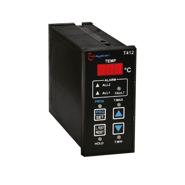 Digital temperature control unit - T412 - TECSYSTEM srl