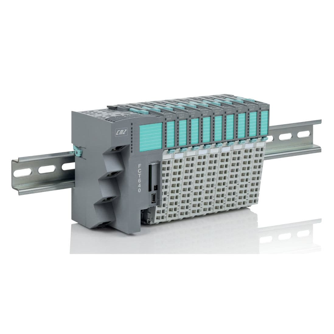Compact PLC / with integrated I/O / analog inputs / EtherCAT
