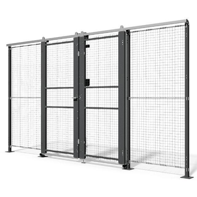 Wire Door | Safety Door Sliding Metal Wire Mesh Qimarox Videos