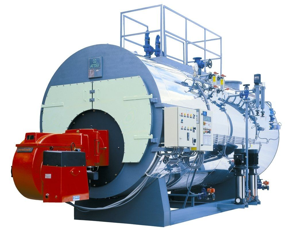 Steam boiler / fuel oil / natural gas / biogas - HH Series - ATTSU ...