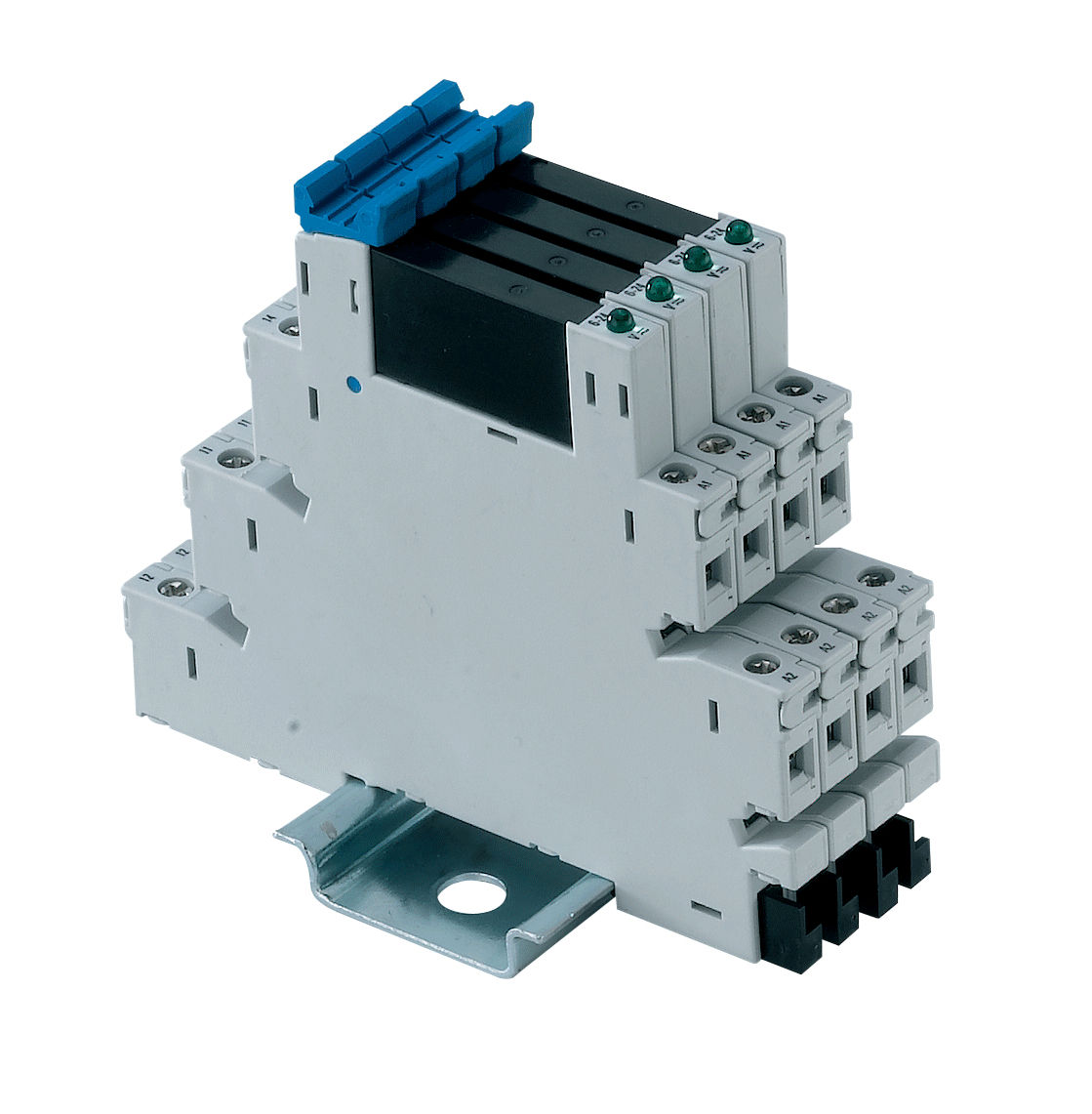 24v ac solid state relay slim din rail imser1 series