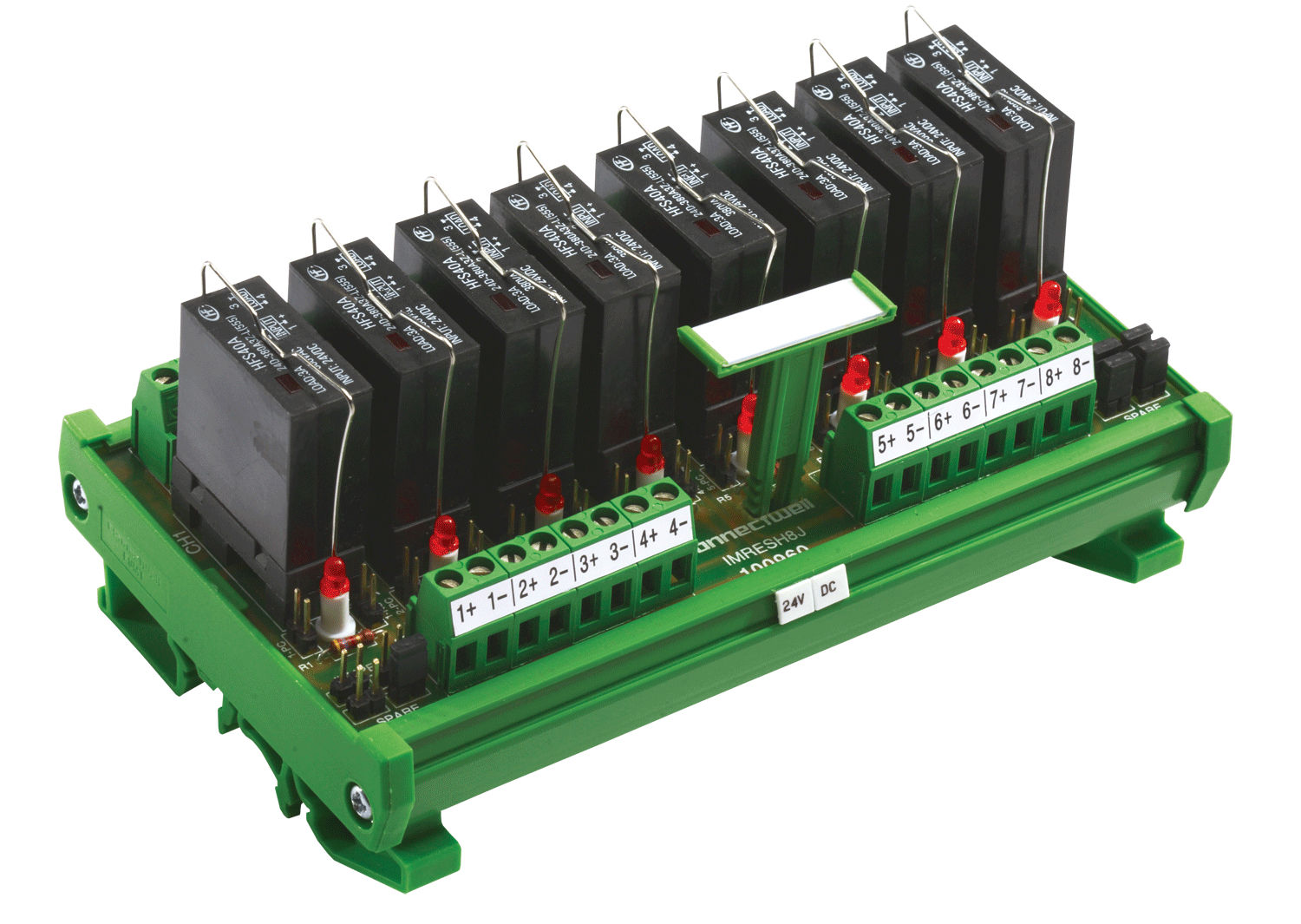 Modular solid state relay MOSFET interface DIN rail IMERS