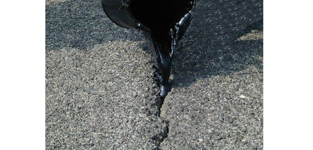 rubber sealant single component liquid asphalt repair