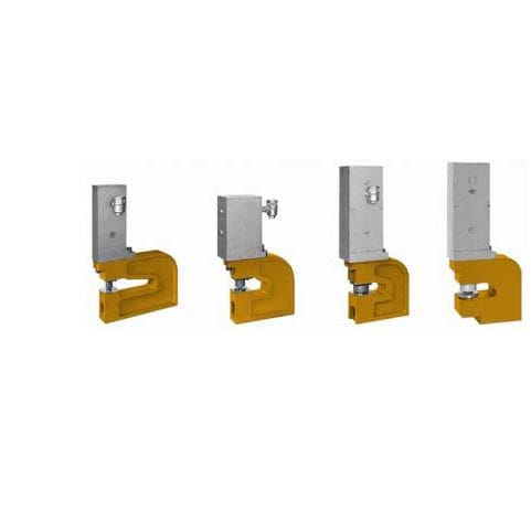 Manual punching unit / pneumatic / for plastic cards