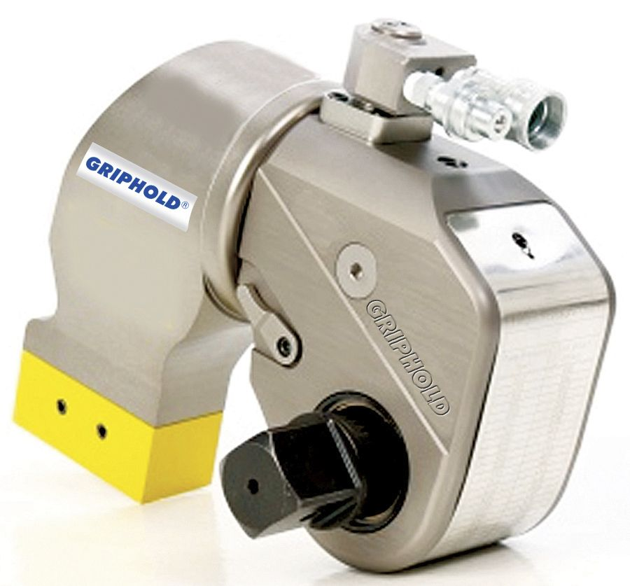 Hydraulic torque wrench - TSD series - GRIPHOLD ENGINEERING
