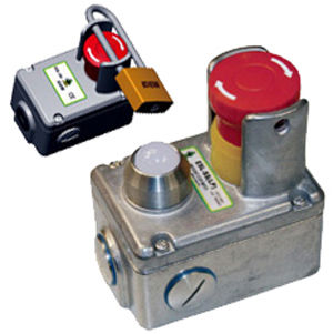 Touch push-button switch / multipole / emergency stop - ESL-SS ...