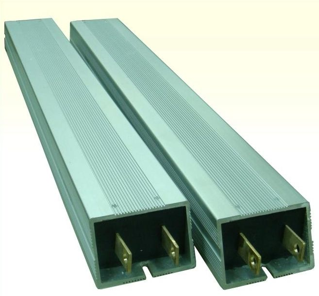 Wire-wound resistor / housed / low-inductance / braking - ASQ / ASQM ...