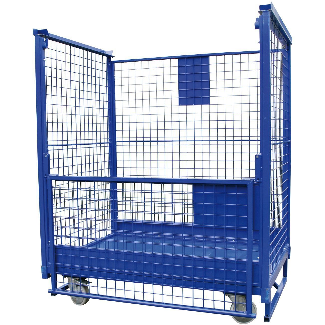 Multipurpose roll container / wire mesh - Euro Stacker - LKE GmbH ...
