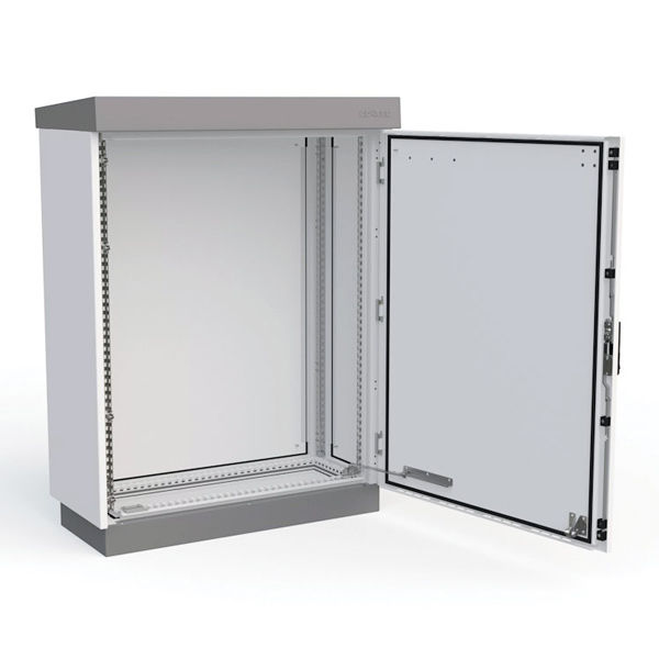 storage cabinet wallmounted singledoor aluminum outteg ii double natural