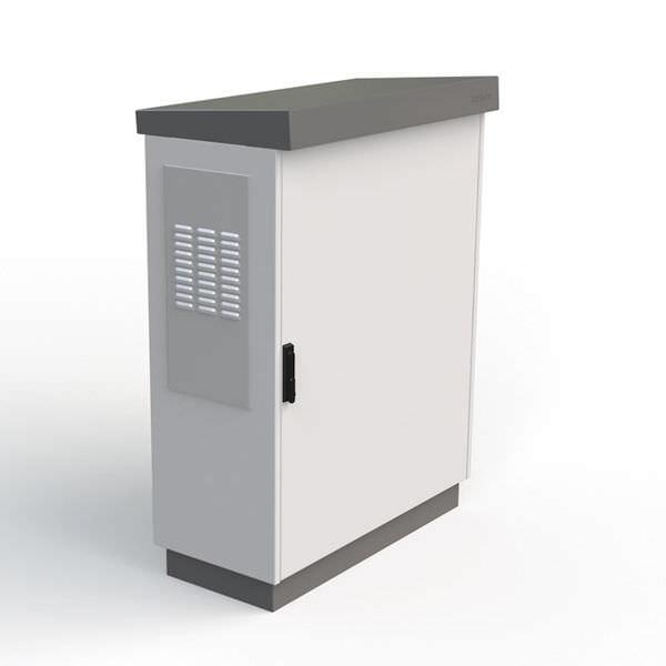 storage cabinet wallmounted singledoor metal outteg ii double active