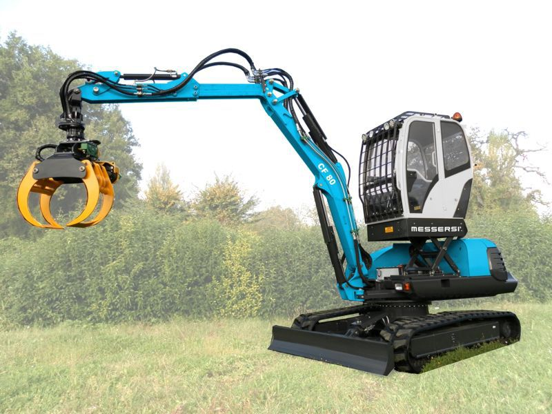tracked loader swing cf 80tk messersì s p a
