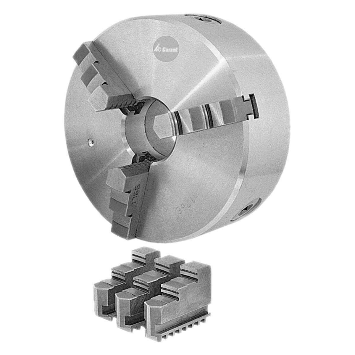 manual tightening turning chuck / 3-jaw / lathe / flange-mounted - 310600