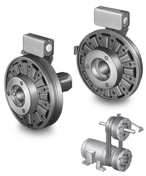 Friction Combined Clutch Brake Unit Electromagnetic