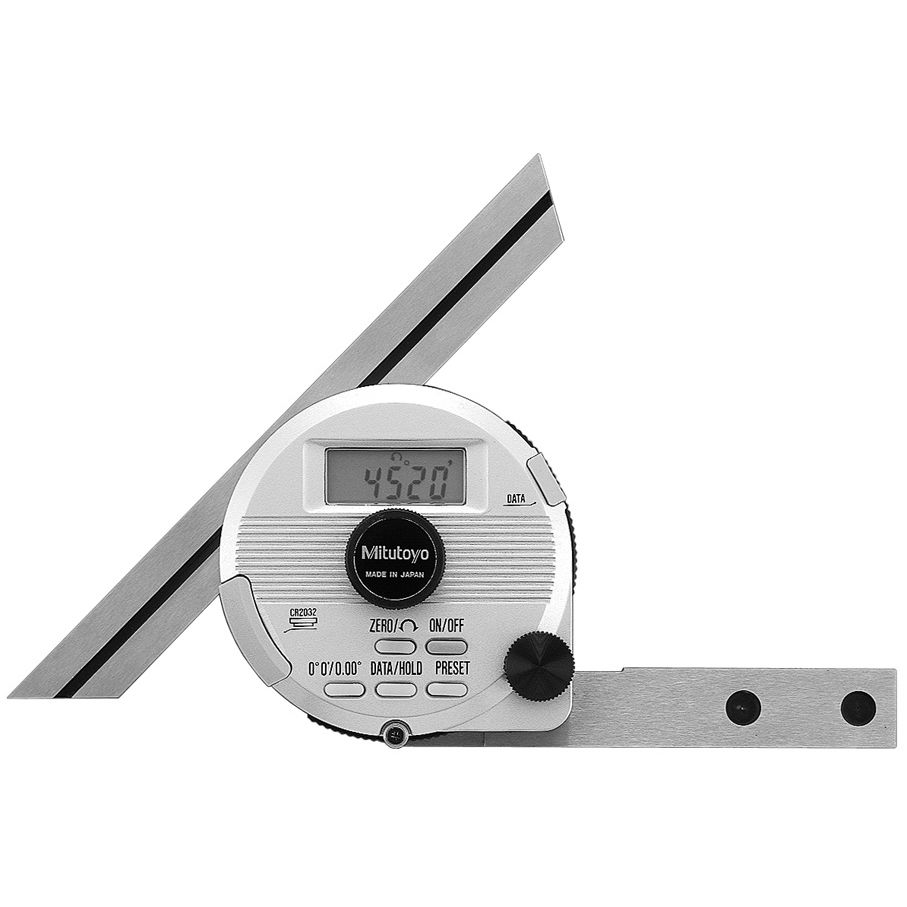 Digital display protractor 187 5xx series
