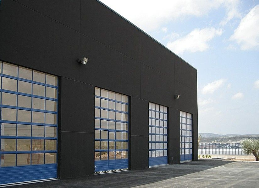 Sectional doors   hangar   industrial   aluminum   Alu Mix. Sectional doors   hangar   industrial   aluminum   Alu Mix