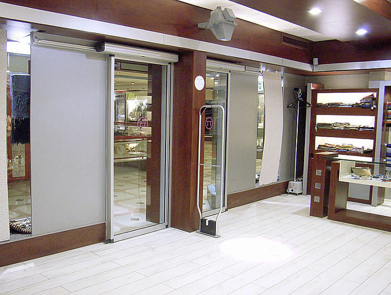 Sliding doorsexteriorglassautomaticETMPuertas Angel Mir