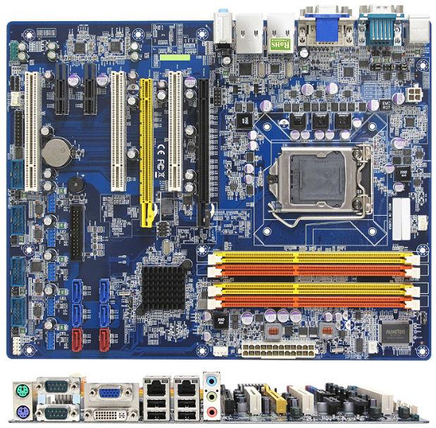 ATX motherboard / Intel C206 /...