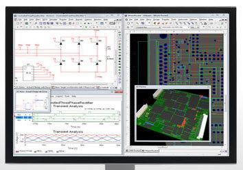 Design software / electronic circuit simulation / printed circuit ...