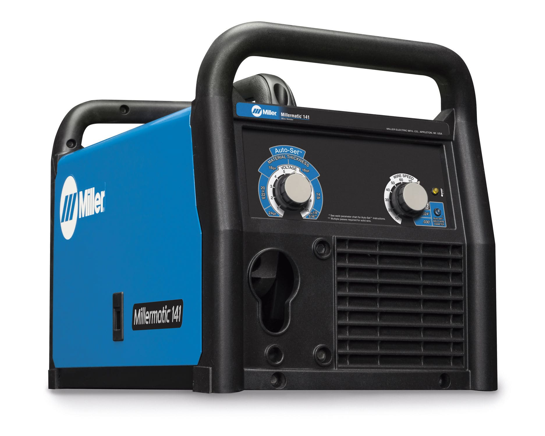 MIG-MAG welder / portable / single-phase / DC - Millermatic® 141 MIG ...