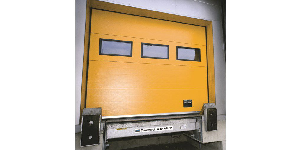 Loading Dock Doors / Sectional / Safety Crawford OH1042D ASSA ABLOY  Entrance Systems
