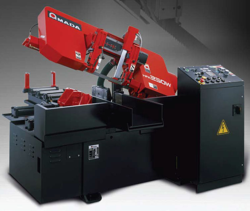 band saw for metals compact horizontal hfa 250 w amada rh directindustry com