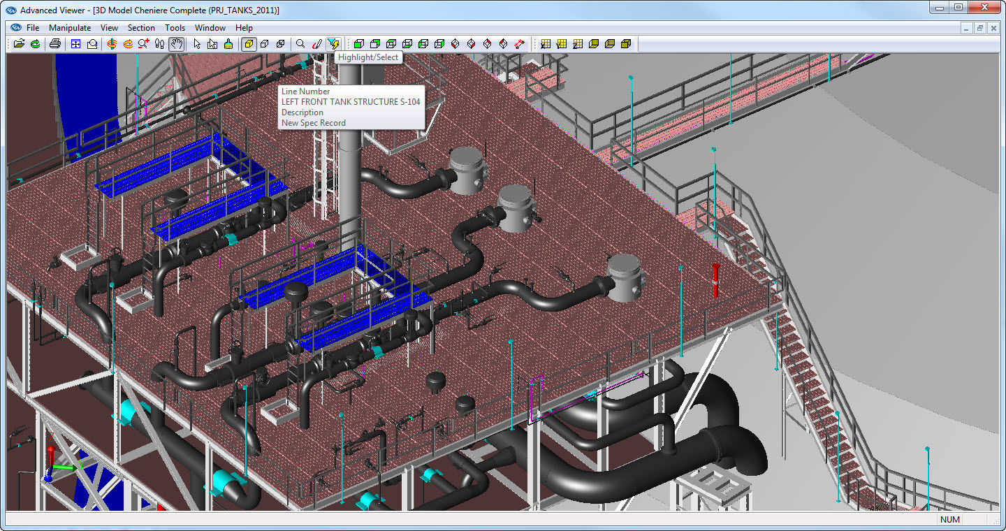 schematic drawing software / design / pipe / 3D - Plant-4D Pipe