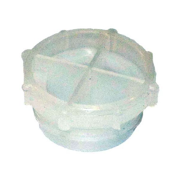 Threaded plug / low-density polyethylene (LDPE