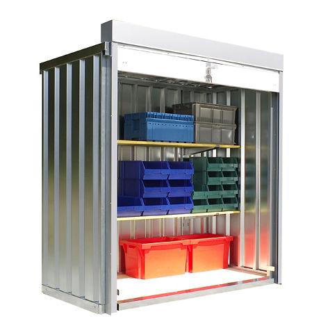 Beautiful Galvanized Steel Intermodal Container / Storage / With Roller Shutters   RB  1100