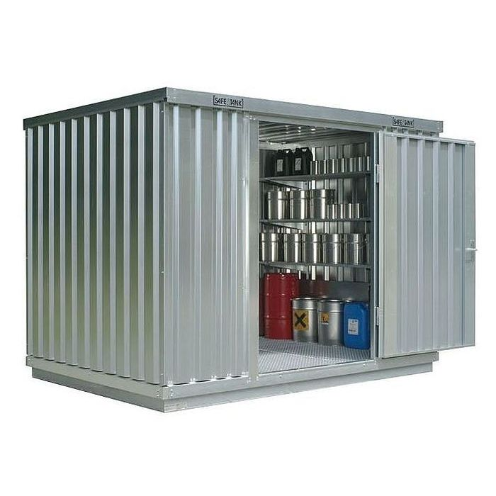 galvanized steel intermodal container / storage / hazardous materials / with heat insulation - ST 1000  sc 1 st  DirectIndustry & Galvanized steel intermodal container / storage / hazardous ...